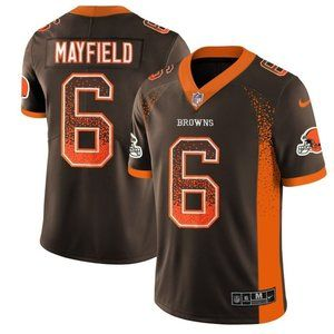 Cleveland Browns Baker Mayfield Brown   Jersey (5)